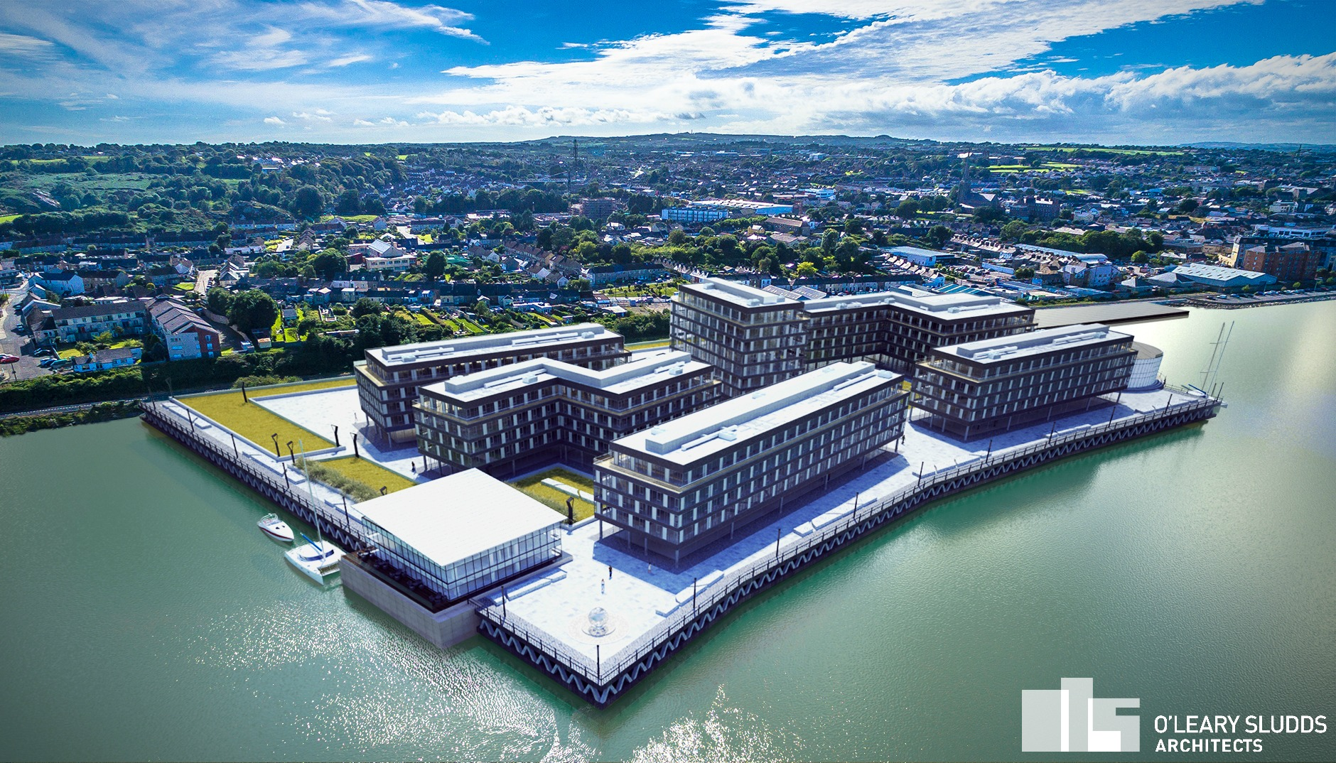 Trinity Wharf Oleary Sludds Architects Wexford